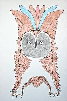 Great Grey Owl by Antonio Casu