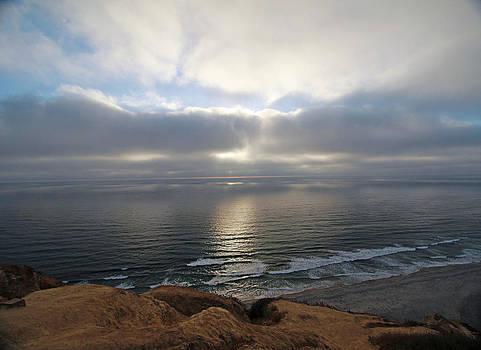 Great Skies at Blacks Beach by Jeremy McKay