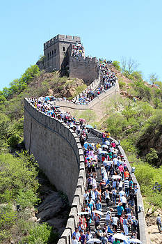 Great Wall of China by Holger Persson