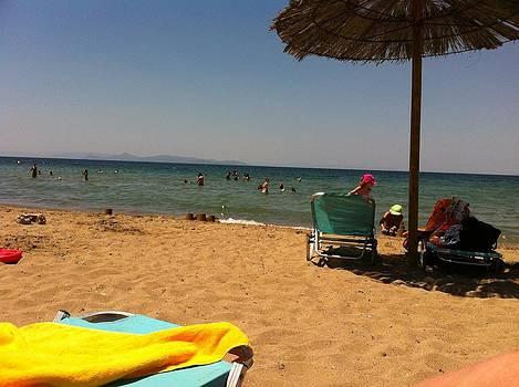 Greece Beach by Kat Kemm