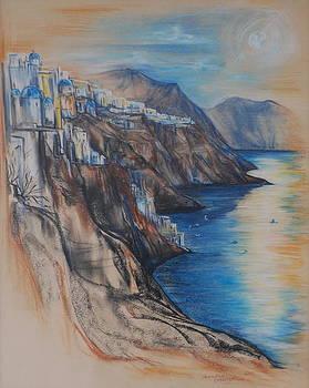 Greek Coast by Jennifer Christenson