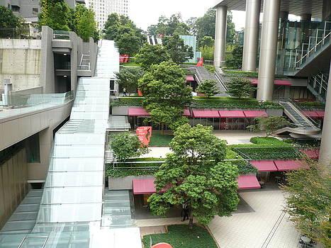 Green Atrium by Chris Wolf