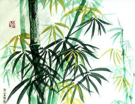 Green Bamboo by Alethea McKee