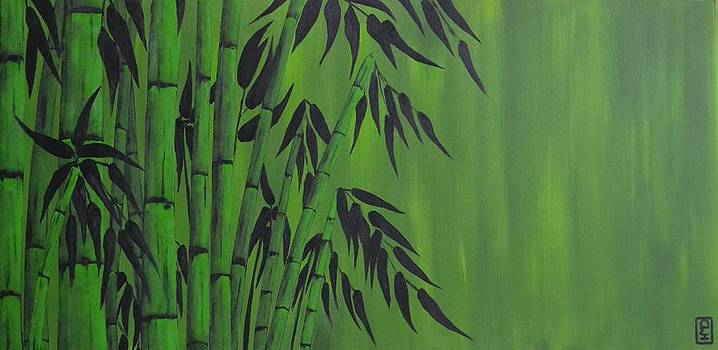 Green Bamboo by Holly Donohoe