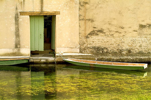 Green Boat by Christopher Brown