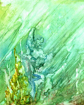 Green Coral by Rosie Brown