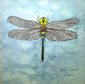 Green Darner by Alethea McKee