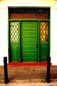 Nina Fosdick - green door