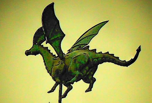 Green Dragon Flies by Mark Cheney
