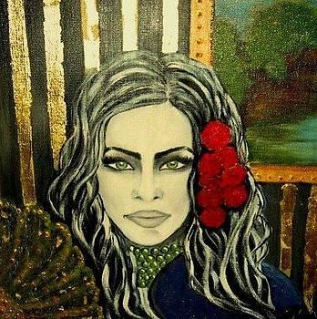Green eyes by Moldovan Oana