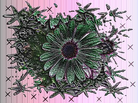 Green Flower by Tinatin Dalakishvili