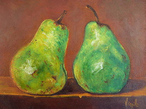Green Pears by Virgilla Lammons