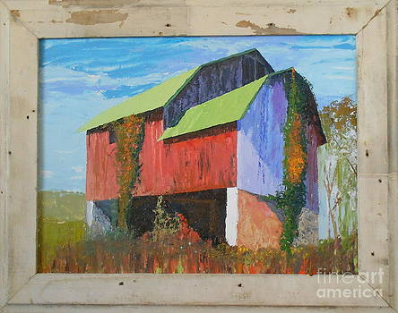 Green Roof by Sherry McVickar
