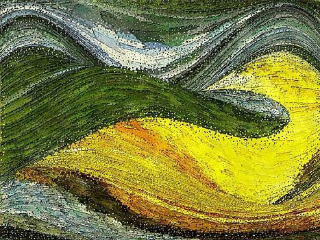 Green Sea by Tinatin Dalakishvili