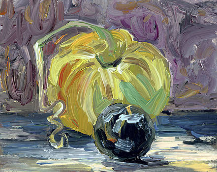 Green Tomato and Plum by Scott Bennett
