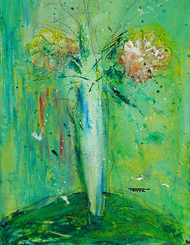 Tonya Schultz - Green Vase