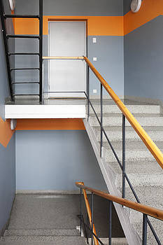 Greencoal Factory Estonia. A Stairwell by Jaak Nilson