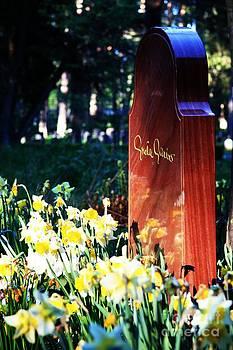 Greta Garbos grave by Kyra Munk Matustik