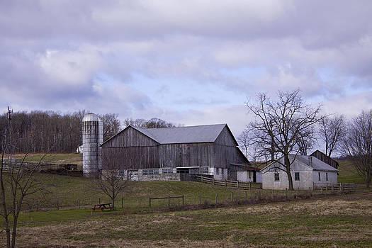 Grey Barn by Bridget Finn