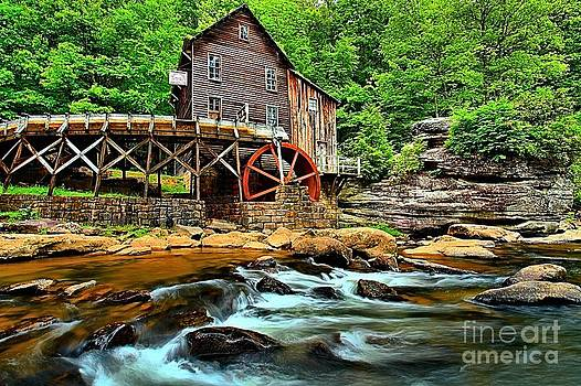 Adam Jewell - Grist Mill At Babcock