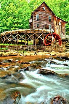 Adam Jewell - Grist Mill In The Forest