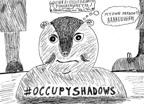 Groundhog Day 2012 cartoon by Yasha Harari