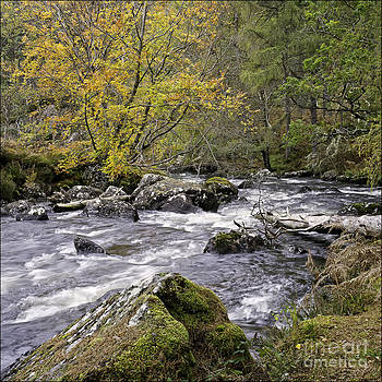 Gruinard River Scotland by George Hodlin