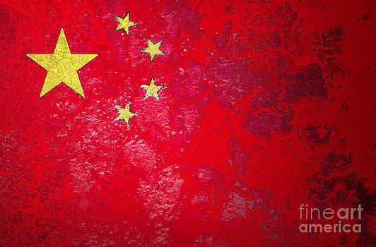 Grunge flag of China  by Jantima  Cha