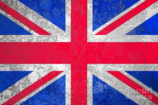 Grunge Union Jack or United Kingdom by Jantima  Cha