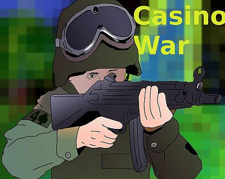 Grunt on the Front by Casino Artist