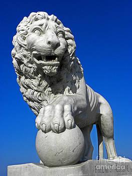 Guardian Lion by Elizabeth Hoskinson