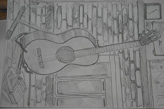 Guitar by Mladen Kandic