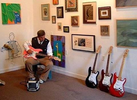 Guitar Vintage Heaven by Michael  Dillon