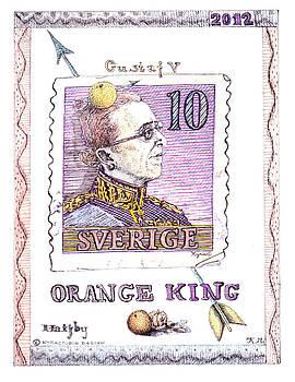 Gustaf v. Swedish king by Kyra Munk Matustik