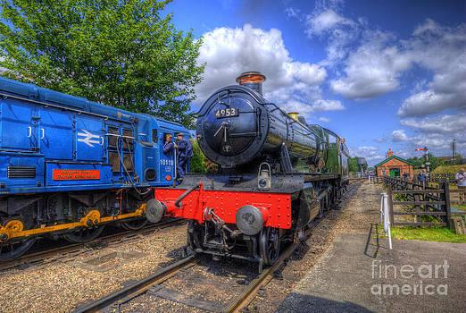 Yhun Suarez - GWR 4900 Class 4953 Pitchford Hall
