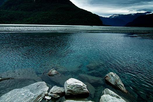 Haast River 1 by Jonathan Hansen