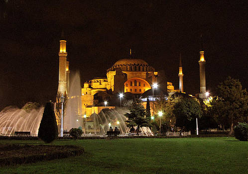 Hagia Sophia by Diane Geddes