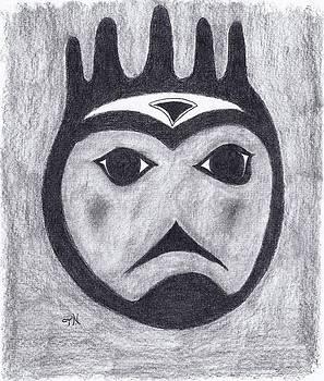 Haida Hand Spirit by Tony  Nelson