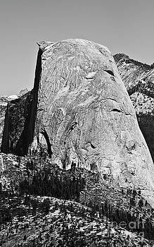 Half Dome Black and White by Pam  Holdsworth