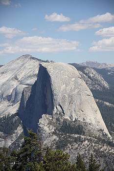Half Dome Face in Shadow by Michael Picco