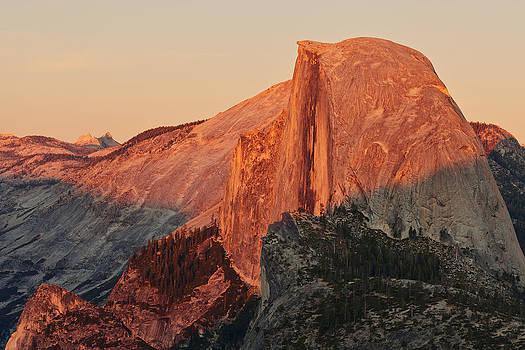 Half Dome Sunset by Nolan Nitschke