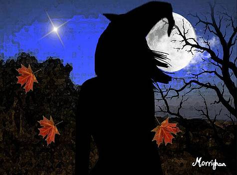 Halloween Witch by Morrighan Wainwright