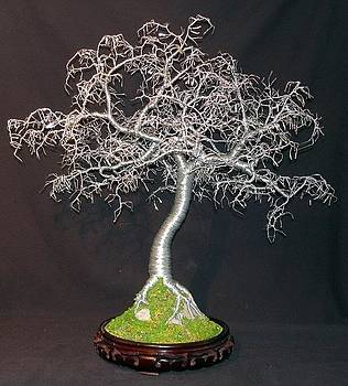 Hammered Leaves Bonsai  by Sal Villano