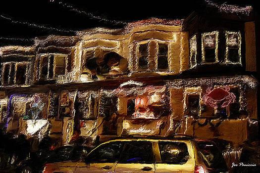 Hampden MD34th Street  XMAS Lights by Joe Paniccia