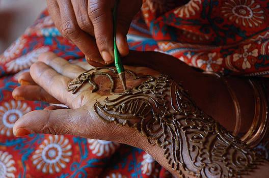 Hand Art by Ramesh Nair