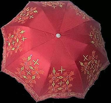 Hand Work Umbrella by Manisha Jain