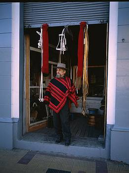 Handcraft Seller In Chile by Thomas D McManus