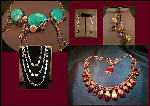 Handcrafted Sterling And Semi-precious Stones by Jewelry