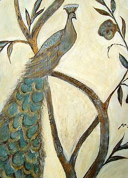 Handsome Peacock by Melynnda Smith