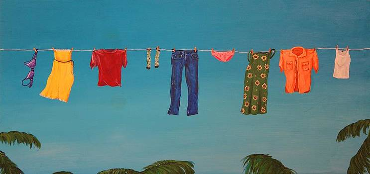 Hanging Out To Dry by Jennifer Lynch